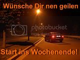 WOCHENENDE START
